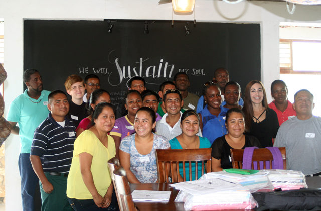 Punta Gorda, Belize teacher training.