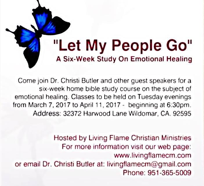 Emotional healing class
